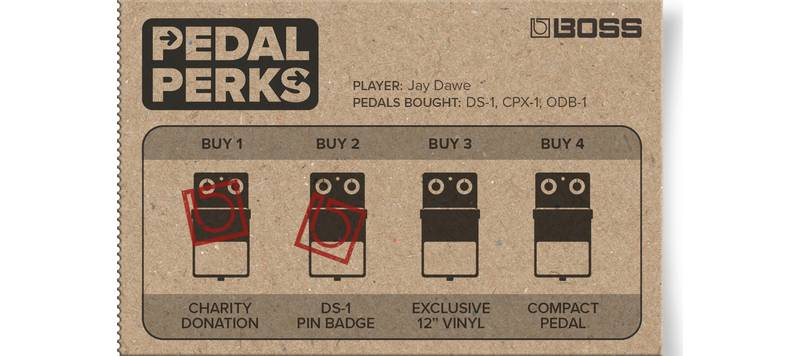 Buy compact pedals, get free stuff