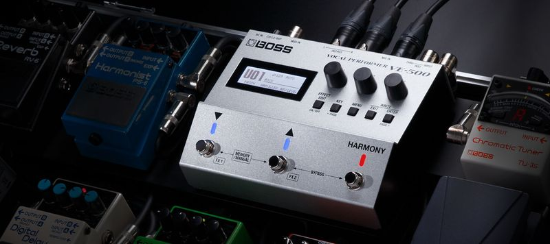 Boss VE-500 ének multieffekt