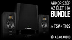 Adam Audio 2xT5V+T10S Bundle kép, fotó