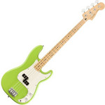 Fender LTD Player Precision Bass MN, Electron Green kép, fotó