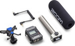 Zoom F1-SP Field Recorder Shotgun Mic Pack kép, fotó