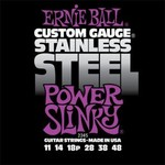 Ernie Ball 2245 Stainless Steel Power Slinky 11-48 kép, fotó
