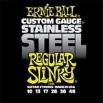Ernie Ball 2246 Stainless Steel Regular Slinky 10-46 kép, fotó