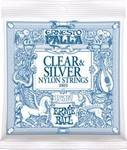 Ernie Ball 2403 Ernesto Palla Clear & Sliver Medium kép, fotó