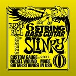 Ernie Ball 2837 Nickel Wound 6 String Slinky  20-90 kép, fotó