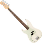 Fender American Pro Precision Bass Left-Hand RW Olympic White kép, fotó