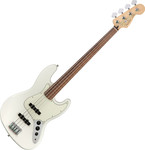 Fender Player Jazz Bass Fretless, PF, Polar White kép, fotó
