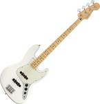 Fender Player Jazz Bass, MN, Polar White kép, fotó