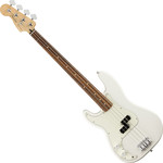 Fender Player Precision Bass balkezes, PF, Polar White kép, fotó
