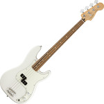 Fender Player Precision Bass, PF, Polar White kép, fotó