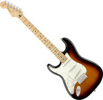 Fender Player Stratocaster balkezes, MN, 3-Color Sunburst kép, fotó