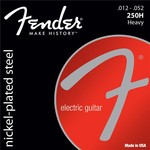Fender Super 250H Nickel Plated Steel, 012-052 kép, fotó
