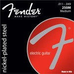 Fender Super 250M Nickel Plated Steel, 011-049 kép, fotó