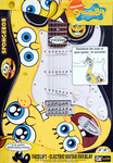 Guitar-Tech SB-FLS2 SpongeBob Squarepants Facelift Guitar Overlay SpongeBob Eyes kép, fotó