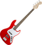 Squier Affinity Jazz Bass LR, Race Red kép, fotó