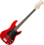 Squier Affinity Precision Bass PJ, Race Red kép, fotó
