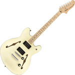 Squier Affinity Starcaster, MN, Olympic White kép, fotó