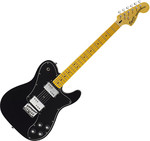 Squier Vintage Modified Telecaster Deluxe, Black kép, fotó