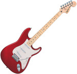 Squier Standard Stratocaster MN Candy Apple Red kép, fotó