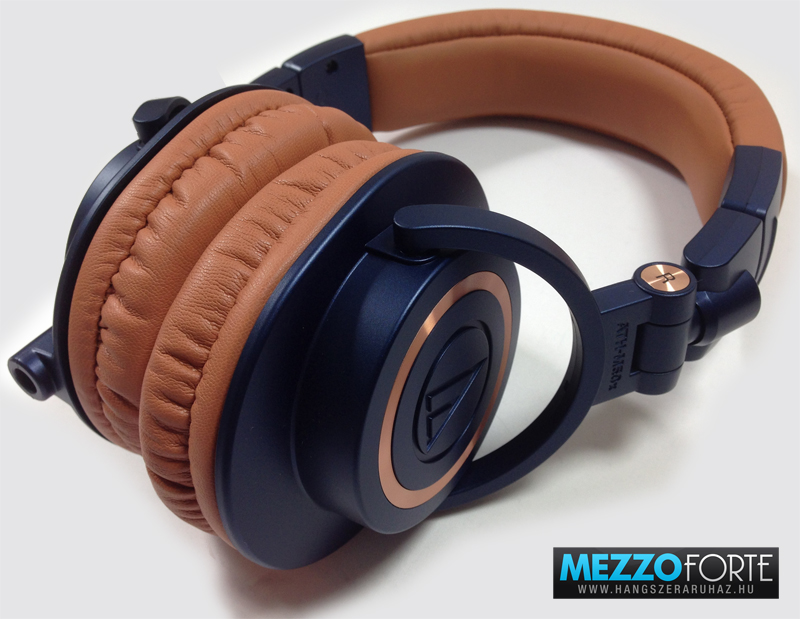 Audio-Technica ATH-M50x BL fejhallgató. Professzionális monitor fejhallgató  ... 6b05855484