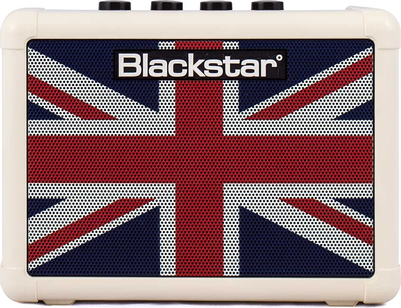 Blackstar Fly 3 Union Flag mini gitárkombó, aktív monitorhangfal