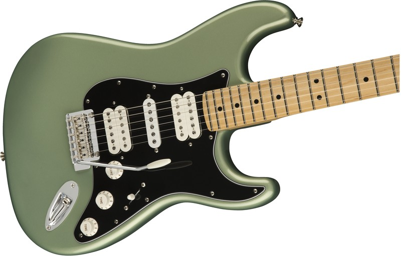 Fender Player Stratocaster HSH, MN, Sage Green Metallic