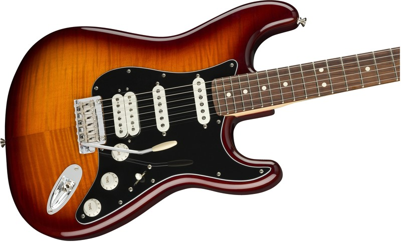 Fender Player Stratocaster HSS Plus Top, PF, Tobacco Sunburst