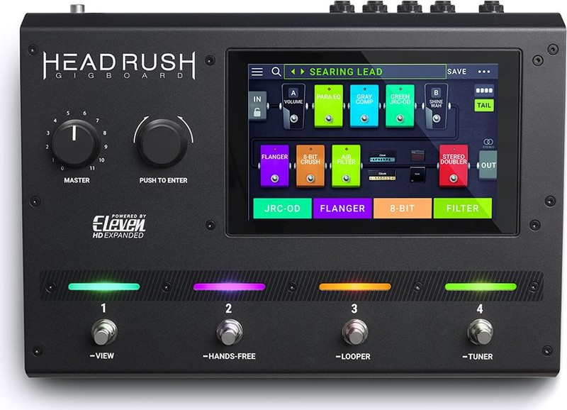 Headrush Gigboard  gitár multieffekt