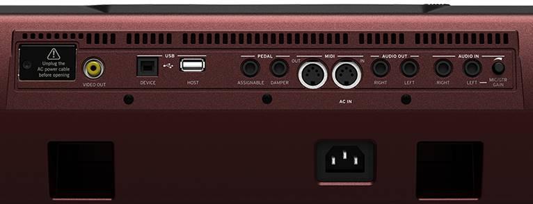 Korg PA1000 kísérő-automatikás szintetizátor