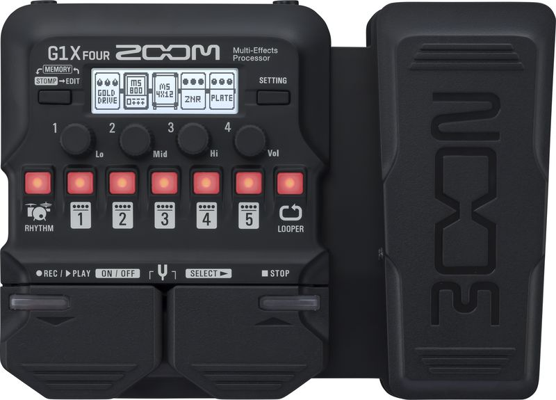 Zoom G1X Four gitár multieffekt