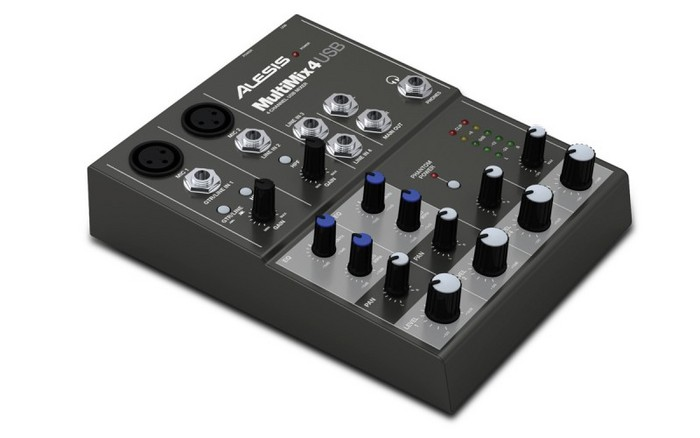 Alesis Multimix 4USB keverő
