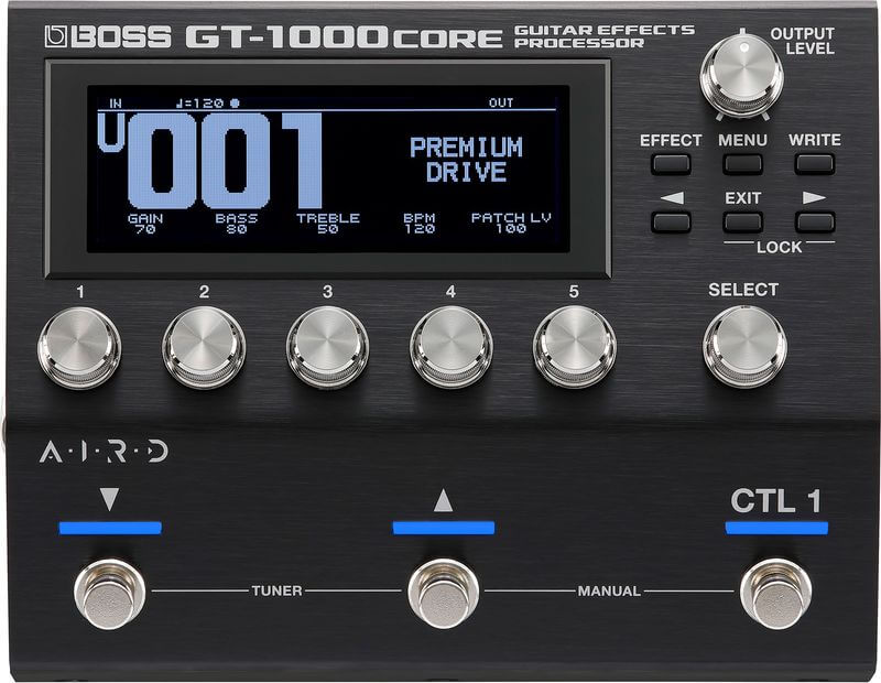 Boss GT-1000CORE gitár multieffekt