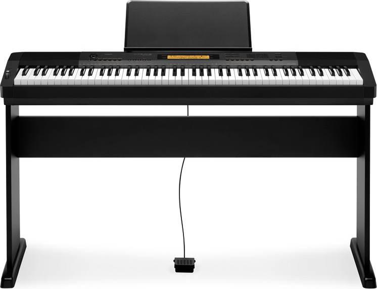 Casio CDP-230 BK digitális zongora + állvány