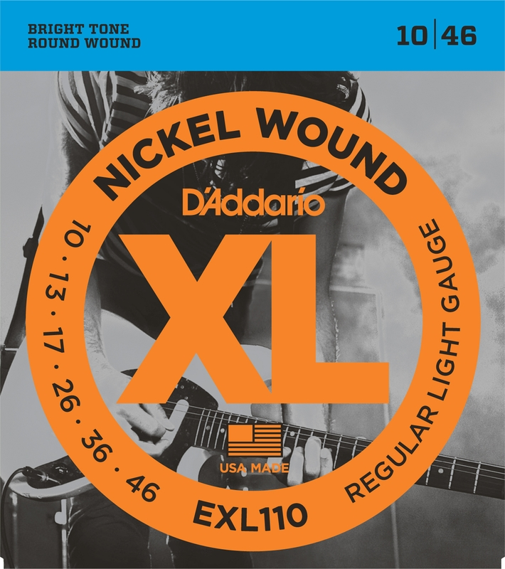 D'Addario EXL110 Nickel Wound, 010-046
