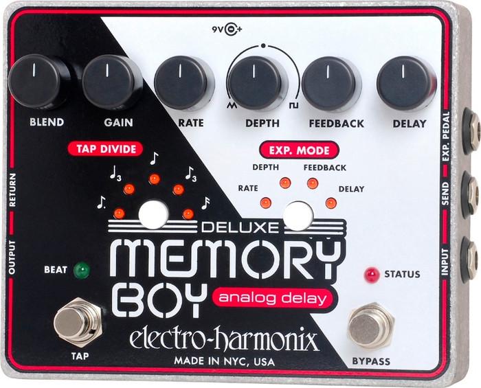 Electro-Harmonix Deluxe Memory Boy analóg visszhang gitárpedál