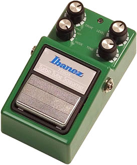 Ibanez Turbo Tube Screamer TS-9 DX gitár torzító pedál