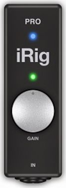IK Multimedia iRig PRO iOS Audio/MIDI interfész