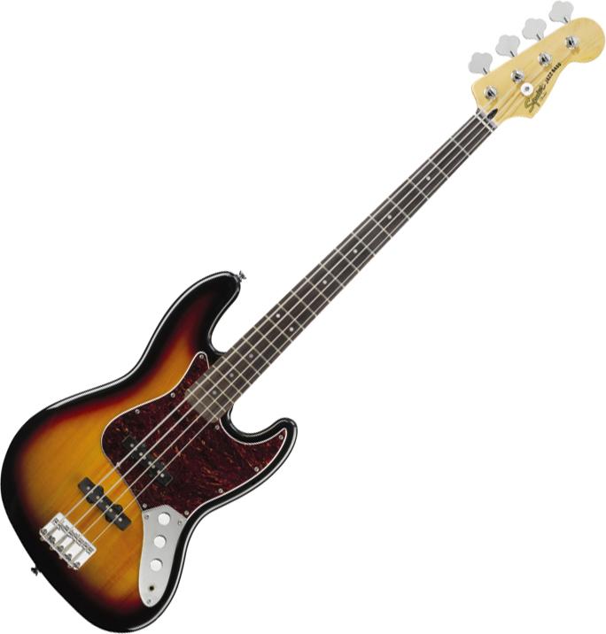 Squier Vintage Modified Jazz Bass, 3-Color Sunburst