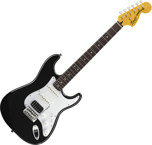 Squier Vintage Modified Stratocaster HSS, Black