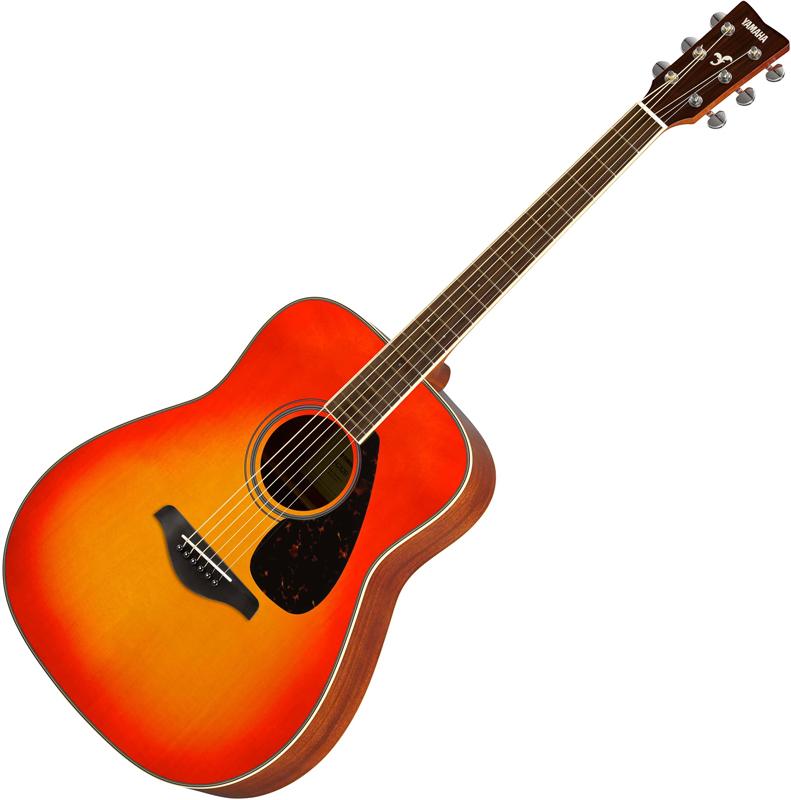 Yamaha FG820 Autumn Burst akusztikus gitár