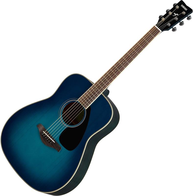 Yamaha FG820 Sunset Blue akusztikus gitár