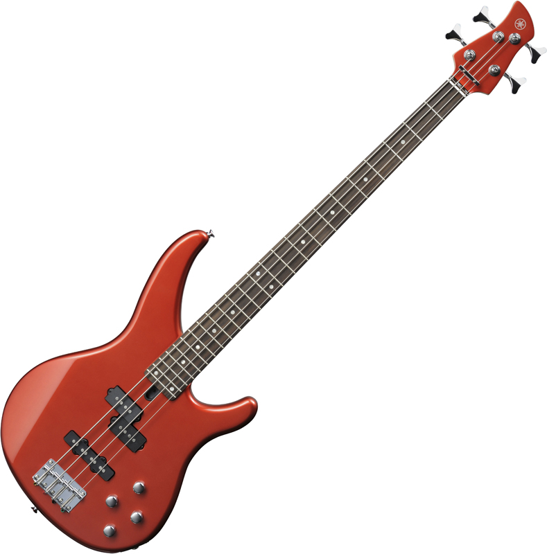Yamaha TRBX204 Bright Red Metallic basszusgitár