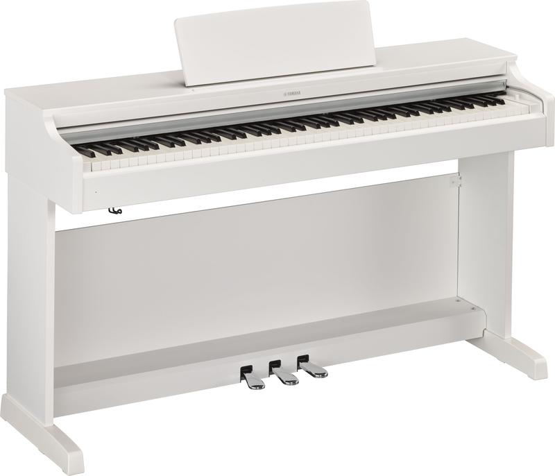 Yamaha YDP-163WH Arius digitális zongora